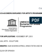 Unesco Application 2014