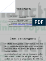 Aula 5 (Gases) – Físico-química