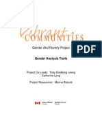 Vibrant Communities Gender Analysis Toolkit