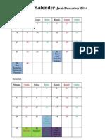 Timeline Kalender 2