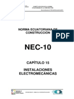 Nec2011 Cap.15 Instalaciones Electromecã Nicas 021412