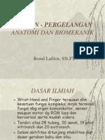 Wrist- Hand Biomekanik