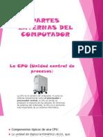 Partes Externas Del Computador