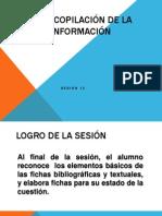 Recopilación de La Información - Fichas