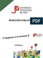 UTP - Clase 5 Redacción