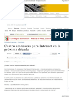 2014-Cuatro Amenazas Para Internet en La Próxima Década