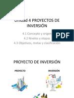 Unidad 4 Proyecto de Inversión