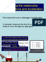PP Force and acceleration