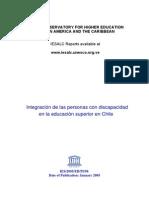 Integracion Educacion Superior Chile