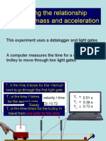 PP Mass and acceleration