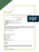 Act 1 Revisión de Presaberes Física Electrónica UNAD Feb 2014