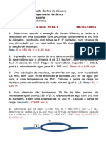 6. Lista de Problemas 2014.1