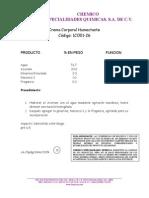 1CO01-25 Frmula Basica Para La Crema Corporal Con Acicrem (1)