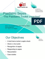Clinical Leads Presentation Paediatric Sepsis 5 2013