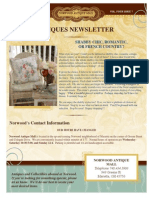 Norwood Antiques Newsletter July 2014 Edition