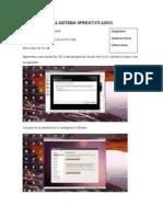 Instalacion Del Sistema Operativo Linux