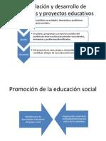 Formulación y Desarrollo de Programas y Proyectos Educativos