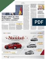Yolanda Vaccaro Entrevista Rajoy Sobre Visa Schengen Perú Colombia