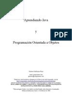 Aprendiendo Java y Programacion Orientada a Objetos