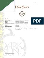 Dark Sun 3.5e Rivision 6 Imageless