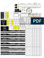 Dark Sun Psionic Character Sheet