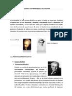 Filosofía Contemporánea Del Siglo Xx