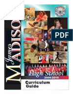 The Madison High School Course Curriculum Guide