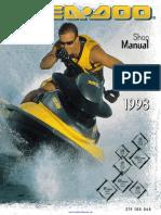 1996 seadoo service manual carburetor tap valve rh scribd com 1997 sea doo xp owners manual 1997 seadoo spx parts manual