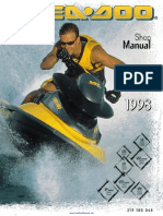 1998 Seadoo Shop Manual
