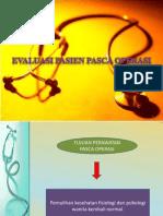 Evaluasi Px Post Op