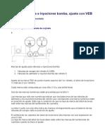 21414.Valvulas e Inyectores Bomba, Ajuste.. Motor Con VEB