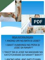 Character Paghingi Ng Pera