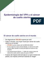 Actualización en Epidemiología de Cáncer Del Cuello de Útero