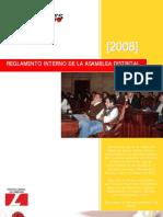 Reglamento Asamblea Distrital de Juventudes