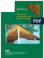 A Material for Cost Effective and Disaster Resistant Housing
