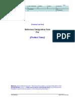 RIN Datasheet Template