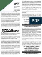 Tunay Na Pagbabago