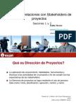 Gestion de Relaciones Con Stakeholders de Proyectos 1-6X1