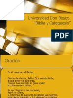 2008 06 05 Biblia y Catequesis