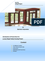 Introduction of French Door