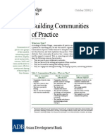Building Communities Practice