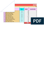 Laboratio#4 Excel B