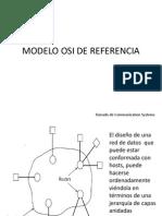 Modelo Osi de Referencia