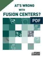 ACLU Fusion Center Report_20071212