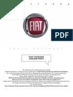 Fiat Strada Owner's Manual