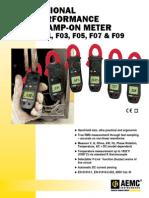 Fasimetro AEMC F09