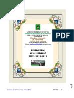 Kurikulum Mi Al Hidayat Tp 2012 20132