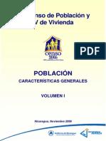 Vol.I Poblacion-Caracteristicas Generales