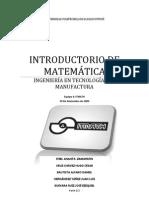 Introductorio de matematica parte 2