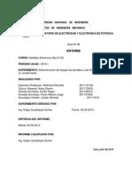 Labo 6 Determinación Del Ángulo de Pérdidas y El Factor de Pérdidas de Un Condensador.